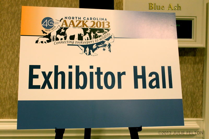Exhibitor Hall Sign 5956